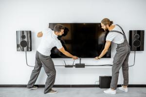 התקנה של טלויזיות בקיר באופן מקצועי